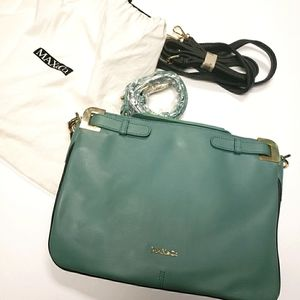 Max & Co. Teal with Straps Crossbody Bag NWT